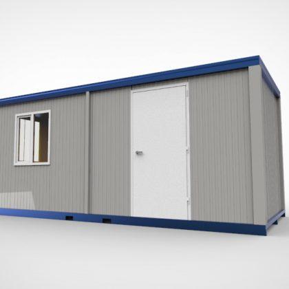 6 meter cabin unit modulair